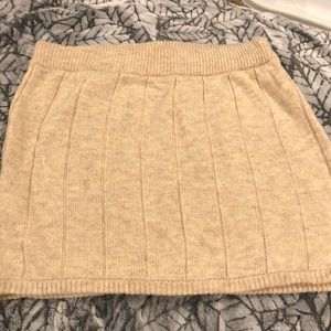 H&M knit skirt